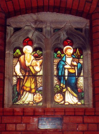 Clark window in Holy Trinity small