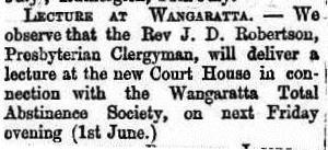 O&MA 29th May 1866