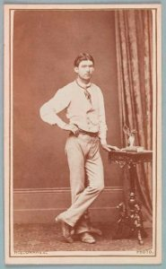 Steve Hart c1878 by Barnes, courtesy State Library of Victoria