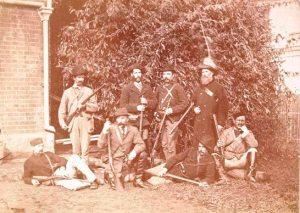 Wangarattta police contingent Kelly gang capture by Barnes 1880
