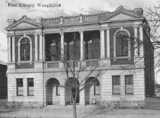Wangaratta free library